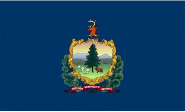 Vermont Flag Outdoor Nylon