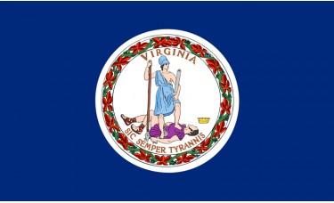 Virginia Flag Outdoor Nylon