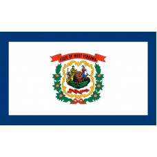 West Virginia Flag Outdoor Nylon