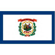 West Virginia Flag Outdoor Nylon