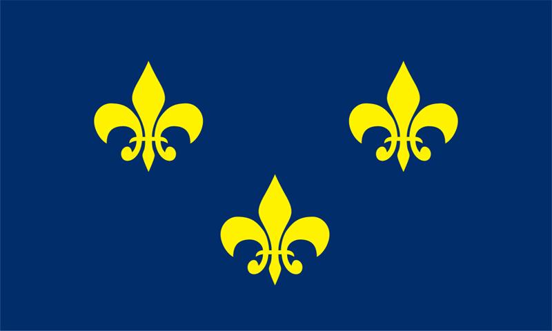 French Fleur De Lis Flag Outdoor Nylon Flagdom